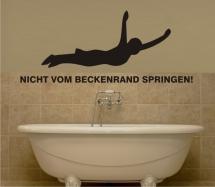 Relaunch vom Badezimmer mit Fliesenlack und Wandtattoos