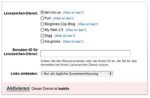 Feedburner-Link-Spleisser