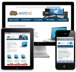 Mobile Email Template Wombat