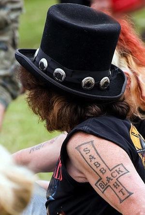 Schlechtesten Rock Tattoos - Black Sabbath
