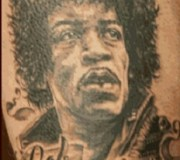 Schlechtesten Rock Tattoos - Jimi Hendrix