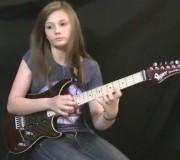 Eruption Gitarren Cover - 14 jähriges Mädchen